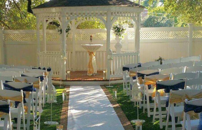Gold wedding package jupiter gardens event center for Garden room jupiters