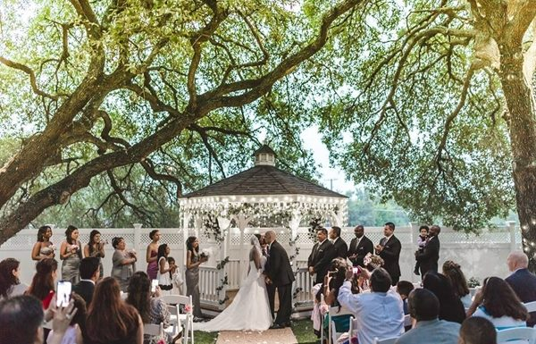 Dallas outdoor wedding venue