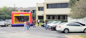 Kid's party with bounce house at Jupiter Gardens Event Center